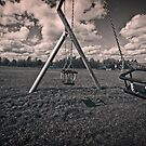 Swings in Summer by Glen Allen