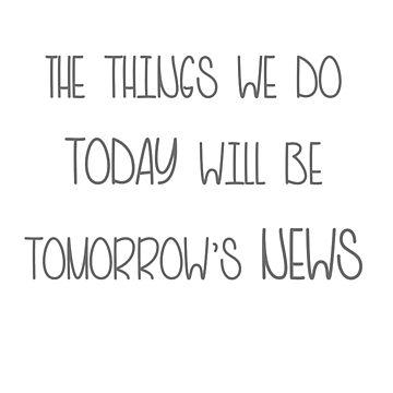 Tomorrow's News by Kielan