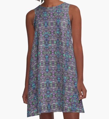 Lavender Fields A-Line Dress