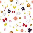 Sailor moon pattern - 1 by hellolen