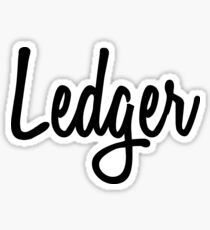 Hey Ledger buy this now Sticker