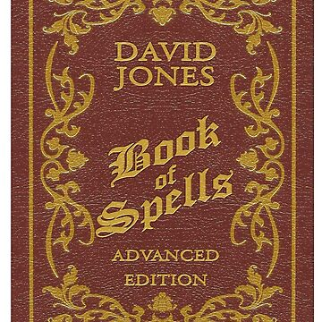 BOOK OF SPELLS - PERSONALISED (see description) by ideedido