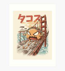 Takaiju Art Print