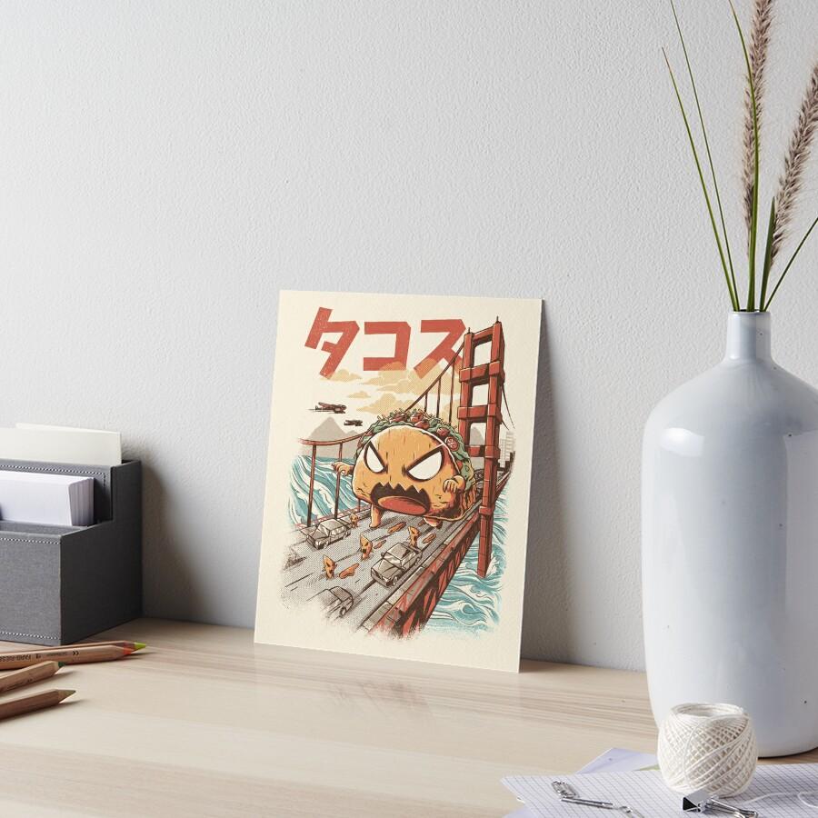 Takaiju Art Board Print