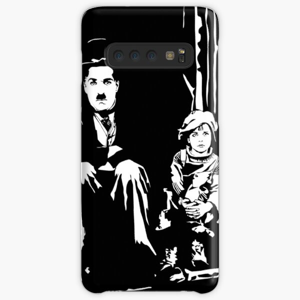Charlie Chaplin el niño Funda rígida para Samsung Galaxy