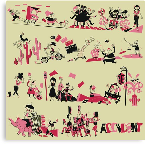 A is for Accident by paulinemman