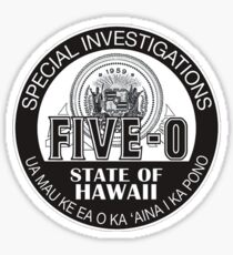 Hawaii Five-0 Emblem Sticker