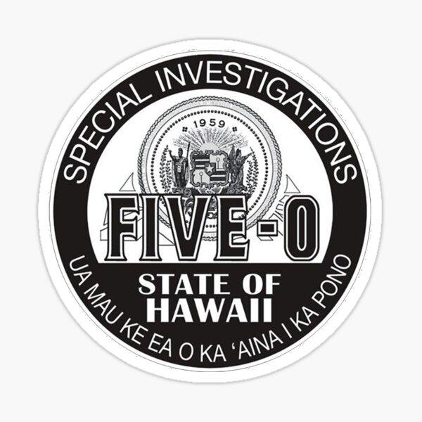 Hawaii Five-0 Emblema Pegatina