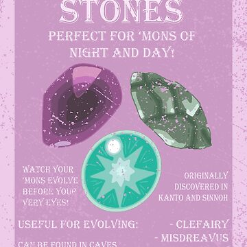 Evolutionary Stone Advertisement by Swainathan
