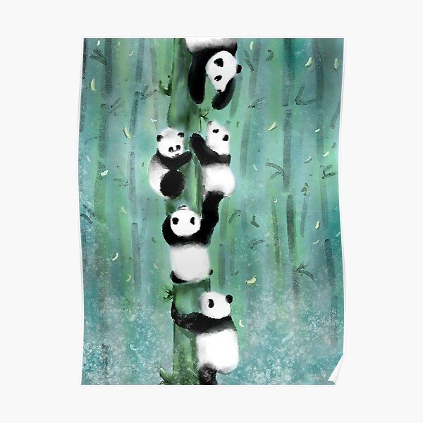 Panda Playtime Poster
