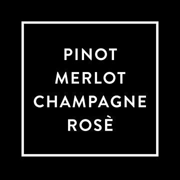 Pinot Merlot Champagne Rosé de hopealittle