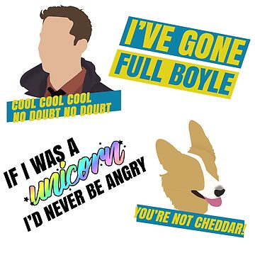 Brooklyn 99 Multi Mini Stickers by snitts