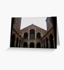 Romanesque Greeting Card