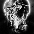 Silber Wolf von Destroyed-Pixel
