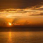 Cuba. Havana. Sunset at the Sea. by vadim19
