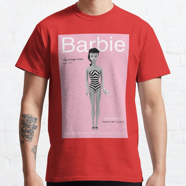 Barbie Poster - The Vintage Years Classic T-Shirt