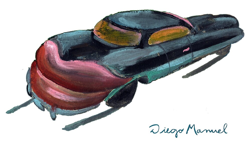 Mouth car by Diego Manuel Rodriguez