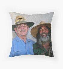 """' Pleased to meet you , hope you guessed my name """". Throw Pillow"""