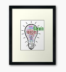 Darwin's Big idea Framed Print