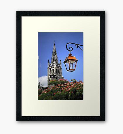 St Émilion church Framed Print