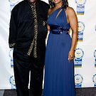 Laila Ali and Louis Gossett Jr by abfabphoto