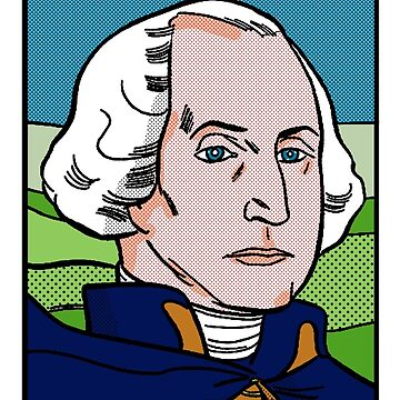 George Washington Pop Art by ElementsUD
