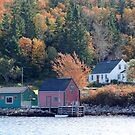 Fisherman's Home, North-West Cove by Jann Ashworth