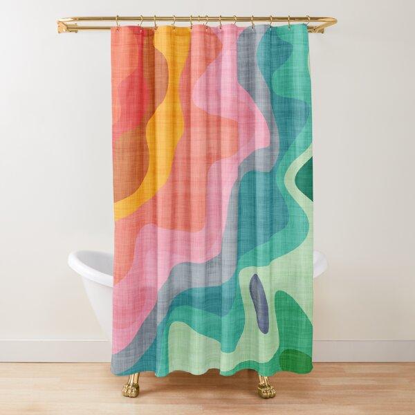 Flouncy Flouncy Shower Curtain
