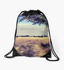 HayField Drawstring Bag