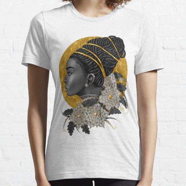 Golden | Black Woman Art Essential T-Shirt