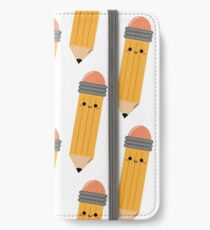 Little Pencil iPhone Wallet/Case/Skin
