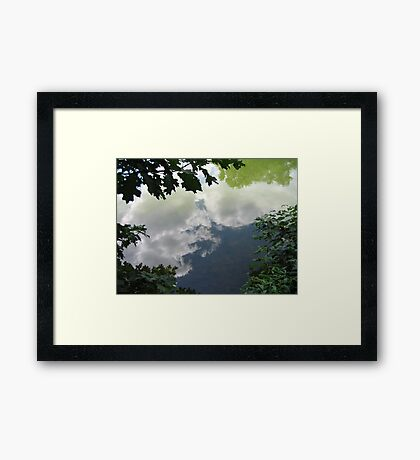 Reflections In Water Framed Print
