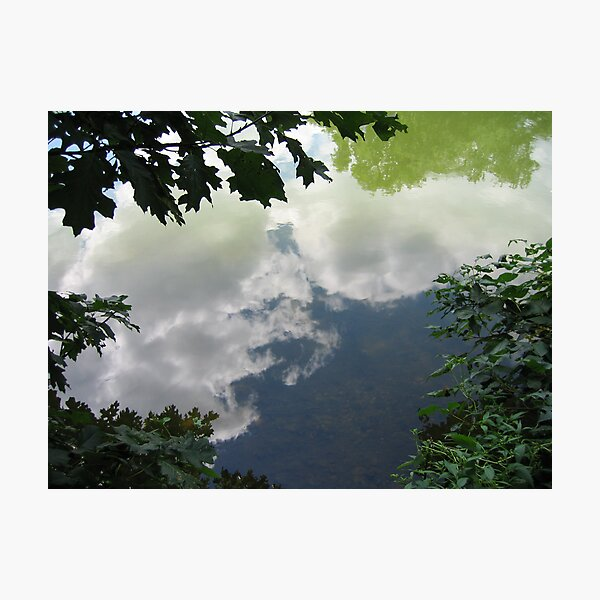 Reflections In Water Photographic Print