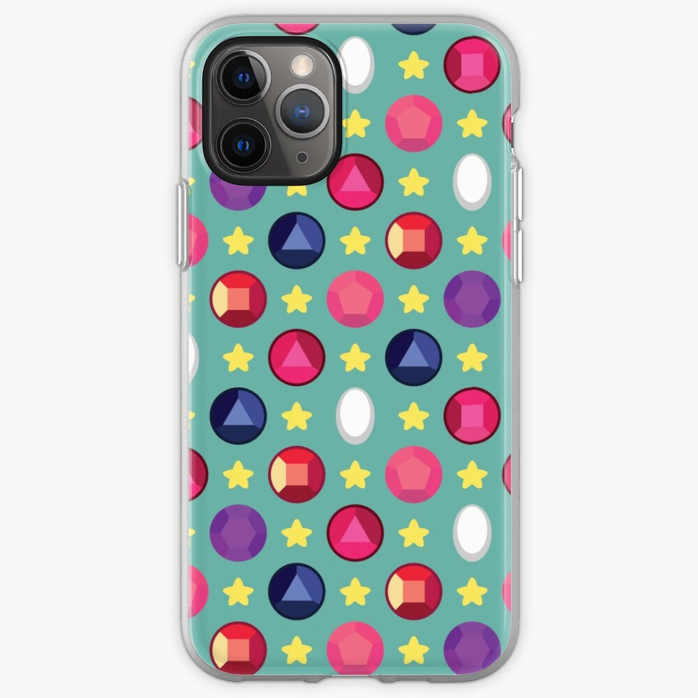Crystal Gem Pattern iPhone Case & Cover