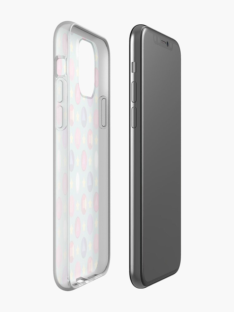 Alternate view of Crystal Gem Pattern iPhone Case & Cover