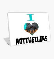 I LOVE ROTTWEILERS **DOG LOVER EDITION Laptop Skin