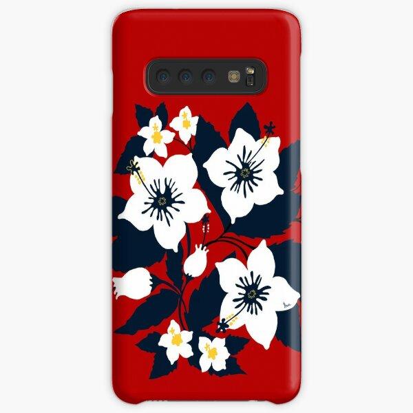 Lauren flower Samsung Galaxy Snap Case