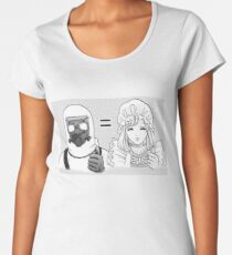 Cells at Work | Monocyte and Macrophage Women's Premium T-Shirt