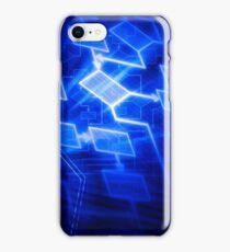 Abstract software algorithm flowchart art photo print iPhone Case/Skin