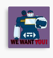 Transformers - We Want You - Decepticons Canvas Print