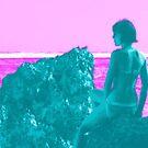 Aesthetic Beach Scene by Eag2000