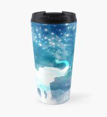 Magical Elephant Spouting Stars Travel Mug
