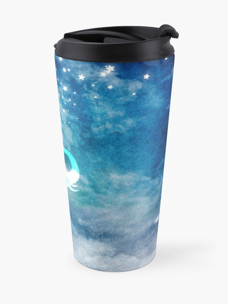 Alternate view of Magical Elephant Spouting Stars Travel Mug