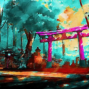 Japanese Archway by Eag2000