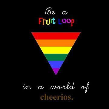 Fruit Loops vs. Cheerios by SchnitzelMan69