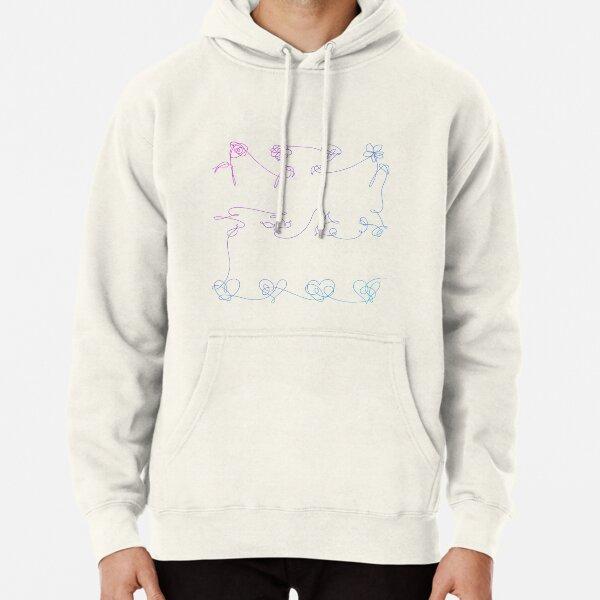 BTS Love Yourself logo Gradient Pullover Hoodie