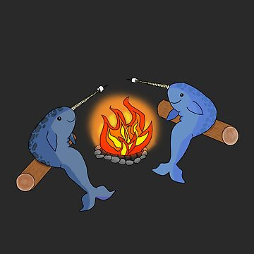 How Narwhals Roast Marshmallows by jackbattle6