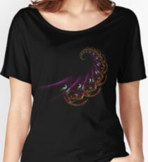 asian fractal spiral Women's Relaxed Fit T-Shirt