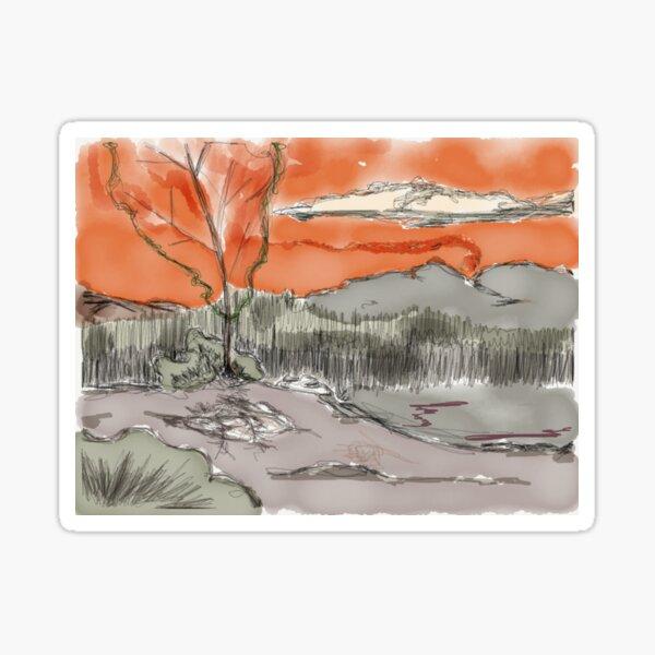 Whisper Winds Sticker