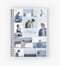 Stray Kids Autographs (Voices MV) Spiral Notebook